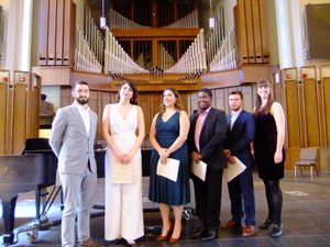 2017 Tri-State College Vocal Competition Winners