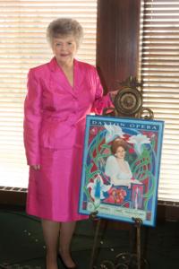 Judy Hudson with door prize