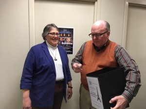 Susan Daly and Tom Bankston