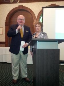 Tom Bankston and Nancy Farkas
